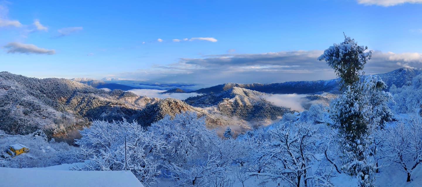 नैनीताल की सर्दियाँ और और बर्फ़बारी 2021